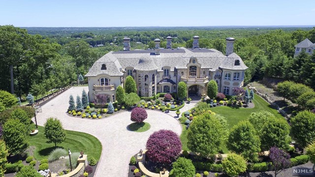 Single Family Home for Sale at French-Inspired Chateau 22 Tudor Rose Ter Mahwah, New Jersey,07430 United States
