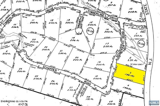 Land / Lots for Sale at 32 Schaffer Road 32 Schaffer Road Alpine, New Jersey 07620 United States