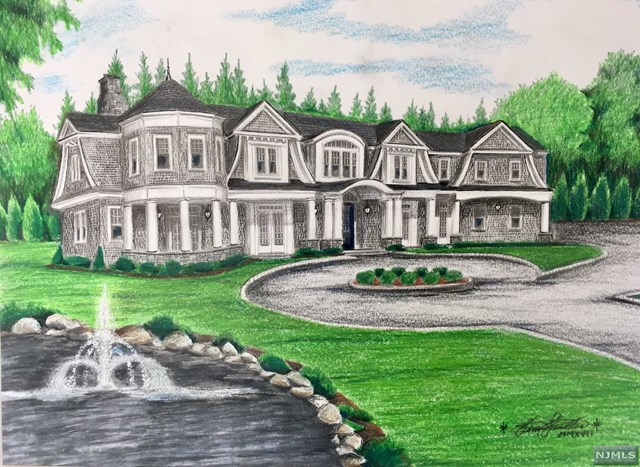 Single Family Home for Sale at Contact for Address Franklin Lakes, New Jersey 07417 United States