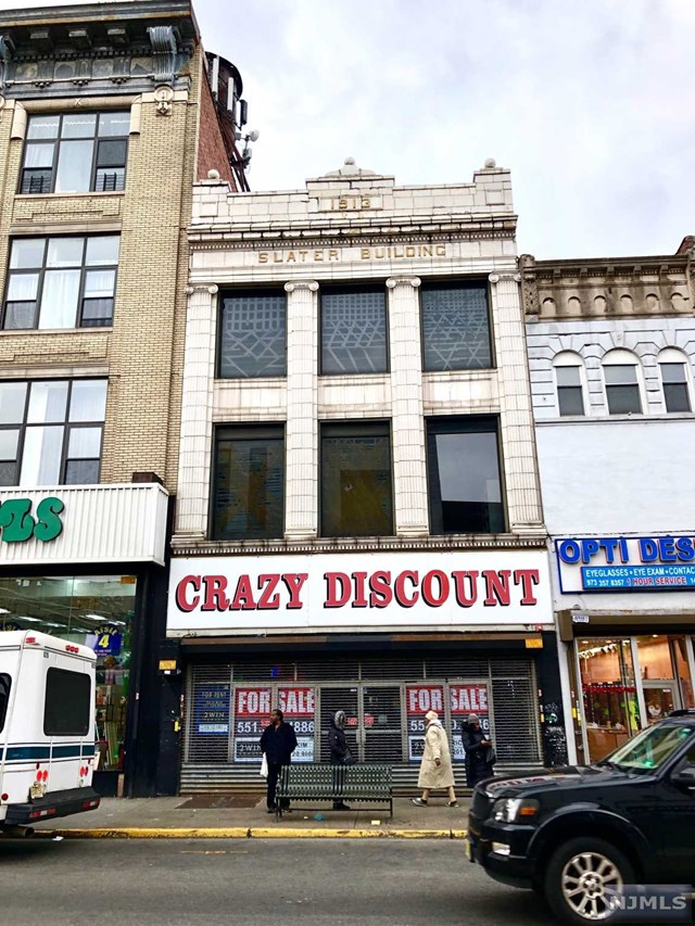 Commercial / Office for Sale at 142-144 Main Street 142-144 Main Street Paterson, New Jersey 07505 United States