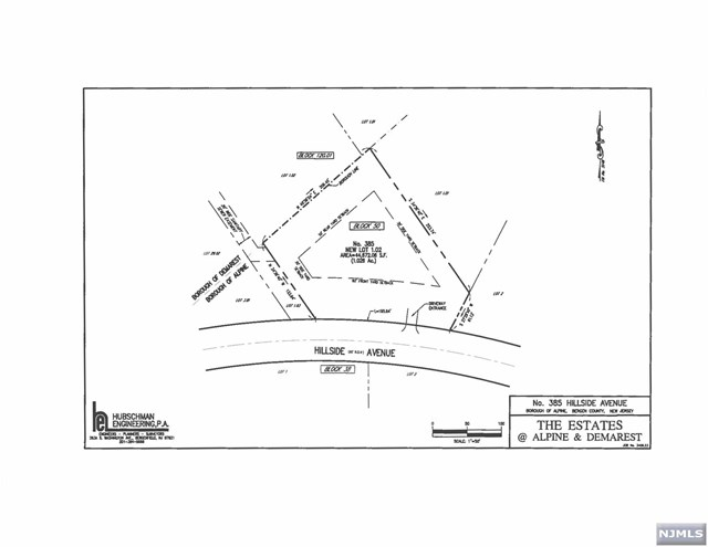 Land / Lots for Sale at 385 Hillside Avenue Alpine, New Jersey 07620 United States