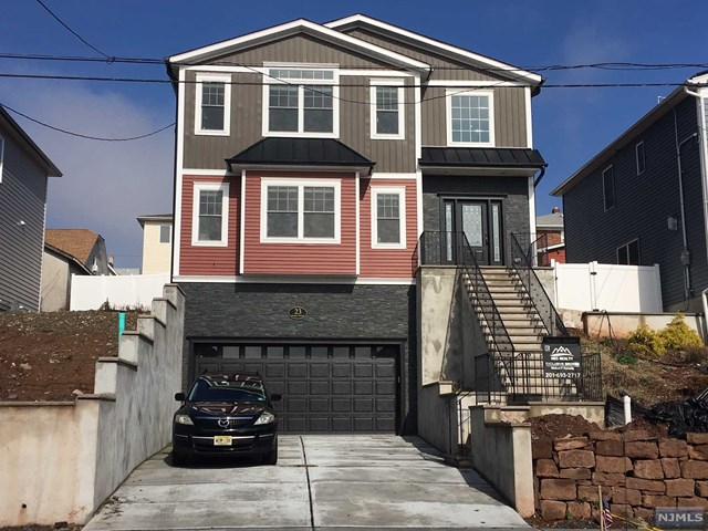 Single Family Home for Sale at 23 Prospect Terrace 23 Prospect Terrace East Rutherford, New Jersey 07073 United States